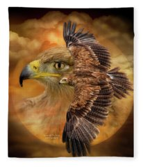 Spirit Of The Wind Fleece Blanket