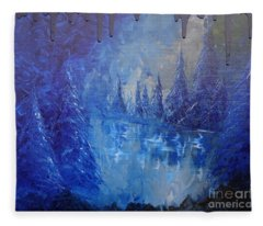 Spirit Pond Fleece Blanket