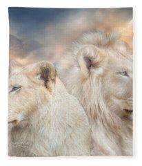 Spirits Of Light Fleece Blanket