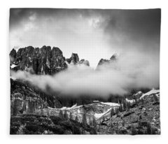 Spirits Of The Mountains Fleece Blanket