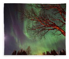 Spirits Of The Night    Fleece Blanket