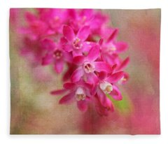 Spring Beauty Fleece Blanket