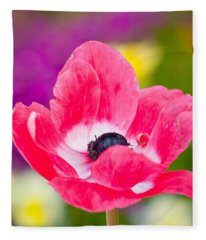 Spring Colors   Fleece Blanket