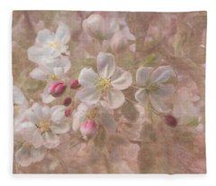 Spring Comes Softly Fleece Blanket