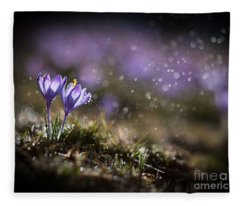 Spring Impression I Fleece Blanket