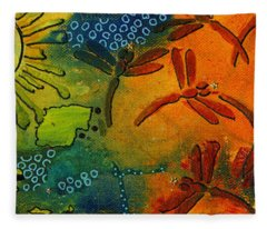 Spring In Full Effect Fleece Blanket