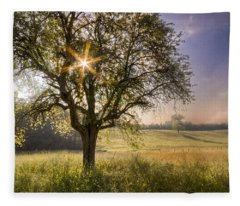 Spring Jewel Fleece Blanket