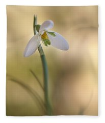 Spring Messenger Fleece Blanket