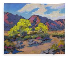 Spring Palo Verde Fleece Blanket