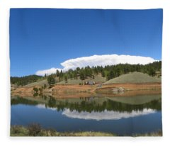 Ridge Over Burgess Res Divide Co Fleece Blanket
