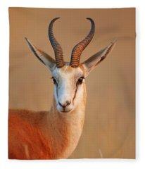 Springbok  Portrait Fleece Blanket
