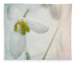 Springflower Fleece Blanket