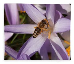 Spring's Welcome Fleece Blanket