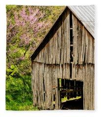 Springtime In Kentucky Fleece Blanket