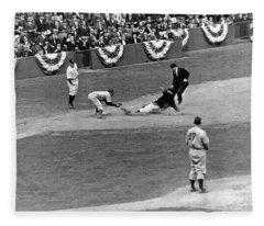Brooklyn Dodgers Fleece Blankets