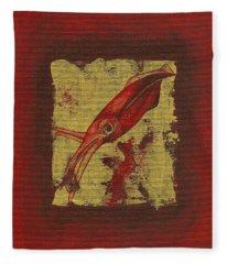 Squid Fleece Blanket