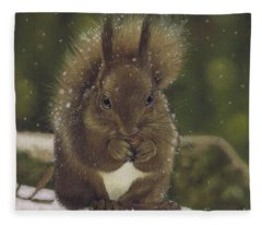 Squirrel Nutkin Fleece Blanket