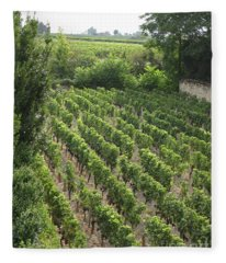 St. Emilion Vineyard Fleece Blanket