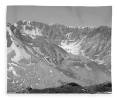 St. Helen's Crater Fleece Blanket
