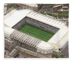 St James Park - Newcastle United Fleece Blanket
