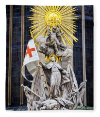St. John Of Capistrano In Vienna Fleece Blanket