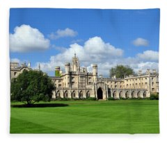 St. John's College Cambridge Fleece Blanket