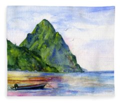 St. Lucia Fleece Blanket