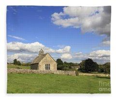 St Oswalds Chapel Oxfordshire Fleece Blanket