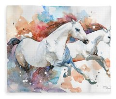 Stallions Fleece Blanket
