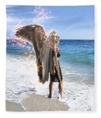 Stand Your Ground  Fleece Blanket
