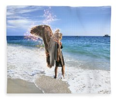 Stand Your Ground I Am With You Fleece Blanket