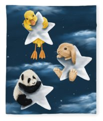 Star Games Fleece Blanket
