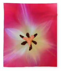 Starfish Tulip Fleece Blanket