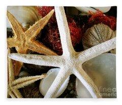 Stars Of The Sea Fleece Blanket
