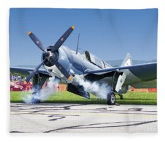 Start Er Up Fleece Blanket