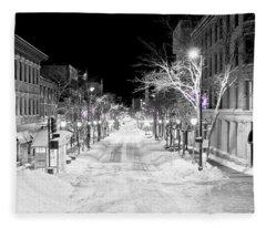 State Street Madison Fleece Blanket