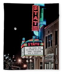 State Theater Fleece Blanket