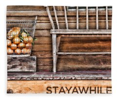 Stayawhile Fleece Blanket