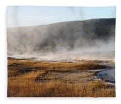Steam Creek Fleece Blanket