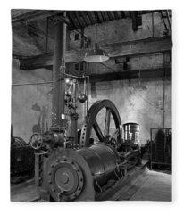 Steam Engine At Locke's Distillery Fleece Blanket