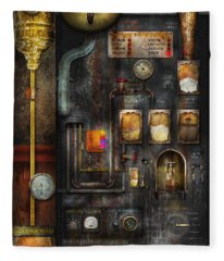 Steampunk - All That For A Cup Of Coffee Fleece Blanket