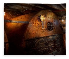 Steampunk - Plumbing - The Home Of A Stoker  Fleece Blanket