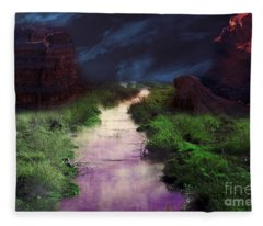 Steamy Creek Fleece Blanket