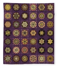 Stellars One Dingbat Quilt Fleece Blanket