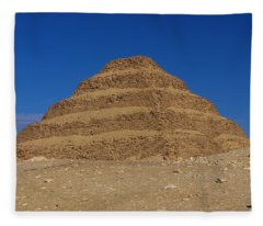 Step Pyramid Of King Djoser At Saqqara  Fleece Blanket