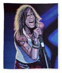 Steven Tyler Fleece Blankets