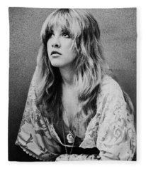 Singer Rock And Roll Fleece Blankets