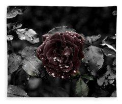 ...still A Rose Fleece Blanket
