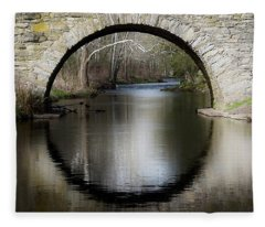 Stone Arch Bridge Fleece Blanket