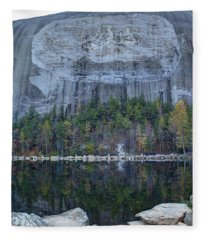 Stone Mountain - 2 Fleece Blanket